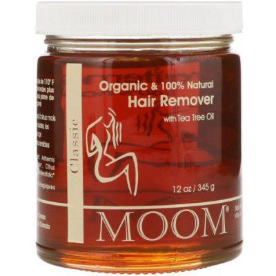 Moom Organic Hair Remover With Tea Tree Oil