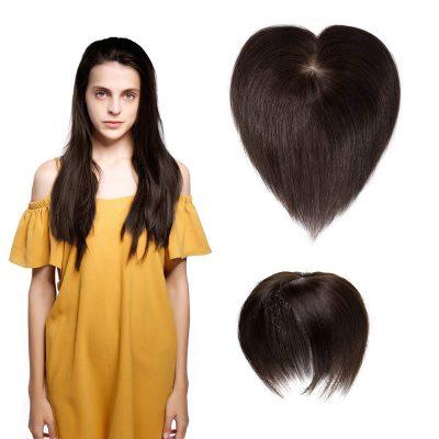 SEGO Dense Hair Topper With Human Base