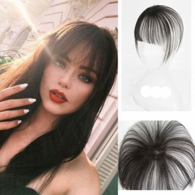 DSYS Short Hair Topper With Fringe Air Bangs