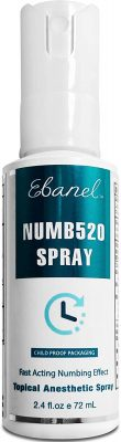 Ebanel 5% Lidocaine Spray