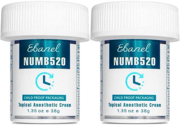 Ebanel 5% Lidocaine Numbing Cream