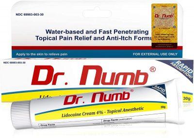 Dr. Numb 4% Lidocaine Numbing Cream