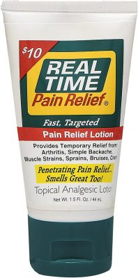 Real Time Pain Relief Menthol Cream