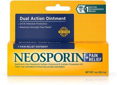 Neosporin Maximum Strength Dual Action