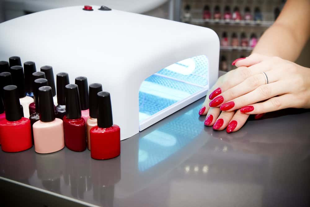 nails with gel polish