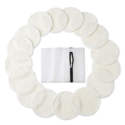 Bamboo Makeup Remover Pads by PHOGARY