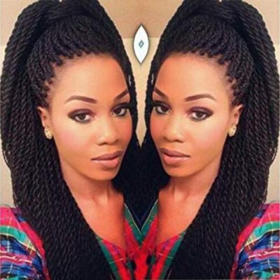 Geyashi Hair Twist Box Braids Crochet Hair Extensions