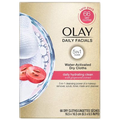 Olay 5-in-1 Daily Cleansing Wipes