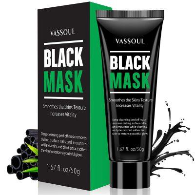 Vassoul Blackhead Remover Activated Charcoal Peel Off Mask