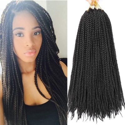 XCHSLB Crochet Box Braids Hair