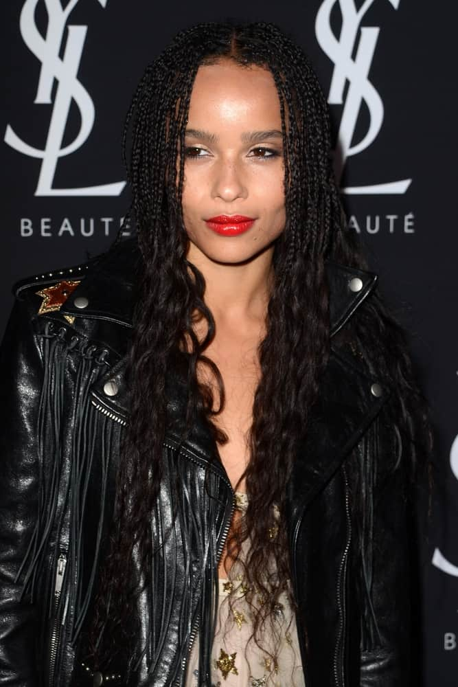 Zoe Kravitz Inspired Goddess Box Braids