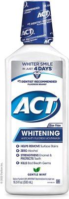 ACT Anticavity + Whitening Rinse