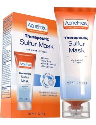 Acne Free Sulfur Mask