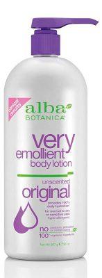 Alba Botanica Very Emollient Unscented Body Lotion
