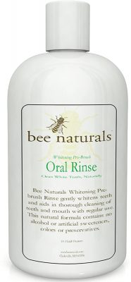 Bee Naturals Whitening Pre-Brush Oral Rinse