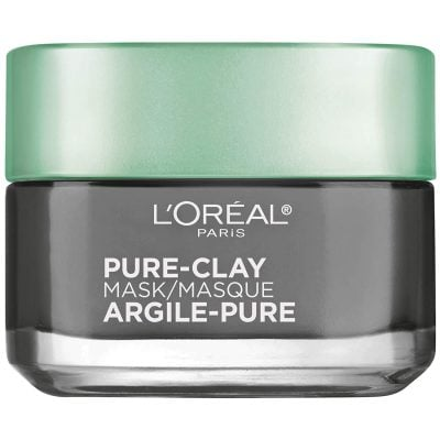 L'Oreal Paris Skincare Pure Clay Face Mask with Charcoal