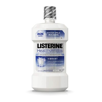 Listerine Healthy White Multi-Action Fluoride Mouth Rinse