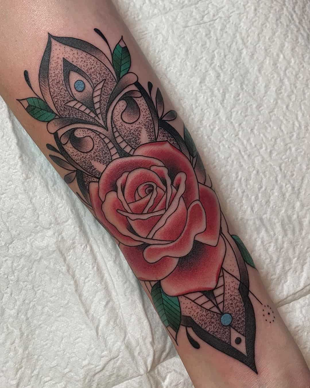 50 Unique Rose Tattoo Ideas For Women - Tattoo Inspirations for 2020
