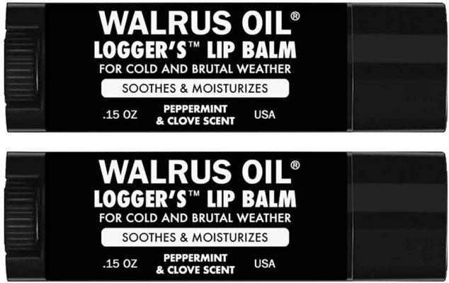 Walrus Oil Logger's Lip Balm
