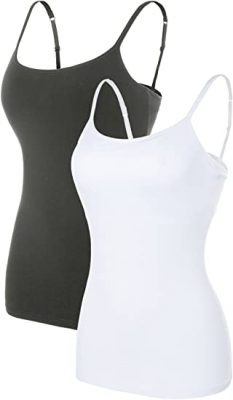 ATTRACO Women's Cotton Camisole Shelf Bra