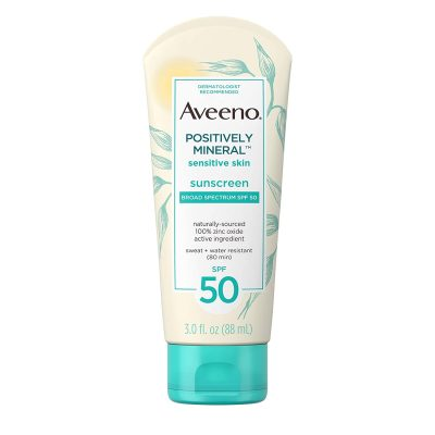 Aveeno Positively Mineral Sensitive Skin Sunscreen