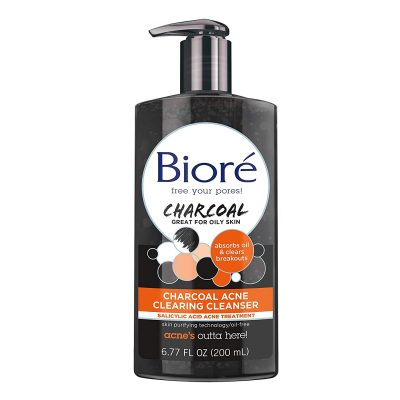 Bioré Charcoal Acne Clearing Facial Wash