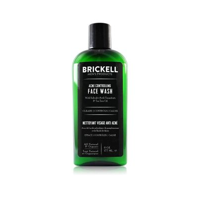 Brickell Men's Acne Controlling Face Wash
