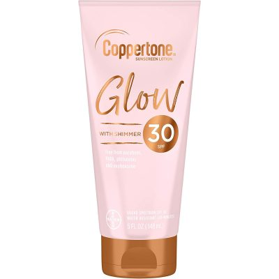 Coppertone Glow With Shimmer Sunscreen Lotion