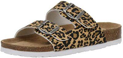 Cushionaire Lane Cork Footbed Sandals