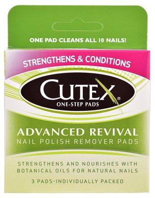 Cutex Advanced Revival Nail Polish Remover Pads