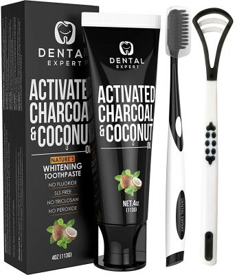 Dental Expert Activated Charcoal Toothpaste