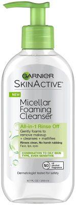 Garnier SkinActive Micellar Foaming Face Wash