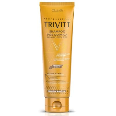 Itallian Hairtech Professional Trivitt Chemically Treated Hair Shampoo