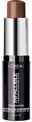 L'Oreal Paris Makeup Infallible Longwear Shaping Stick Foundation