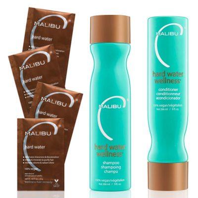 Natural Protective Hard Water Wellness Shampoo and Kit