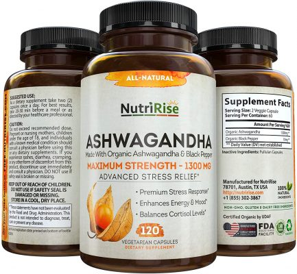 NutriRise Ashwagandha Capsules