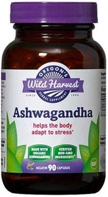 Oregon's Wild Harvest Ashwagandha Supplements