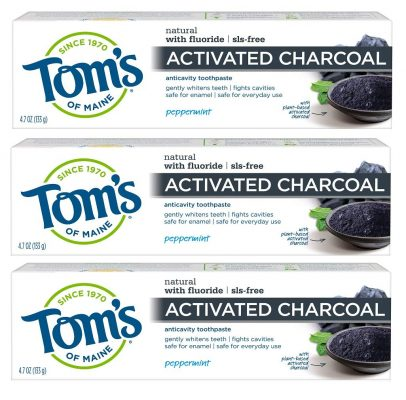 Tom's of Maine Activated Charcoal Toothpaste