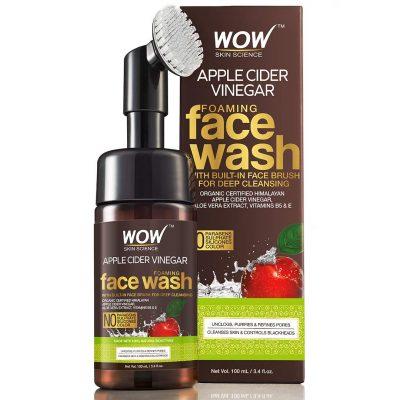 WOW Apple Cider Vinegar Exfoliating Face Wash