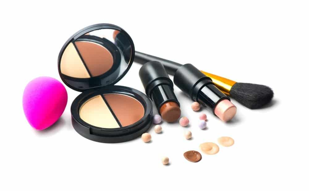 complexion products including contour stick