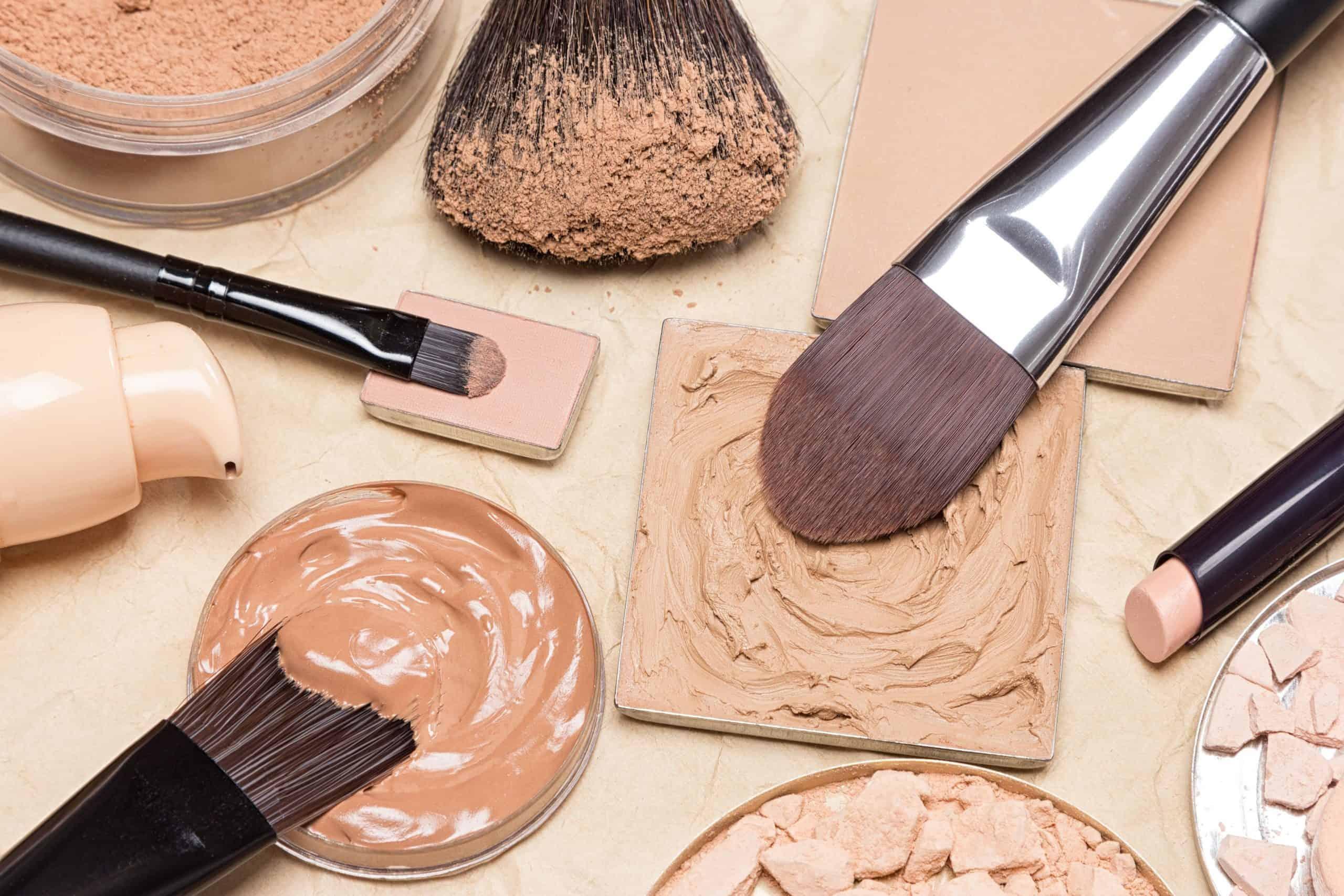 foundation brushes with foundation