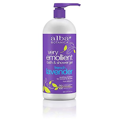 Alba Botanica French Lavender Bath & Shower Gel