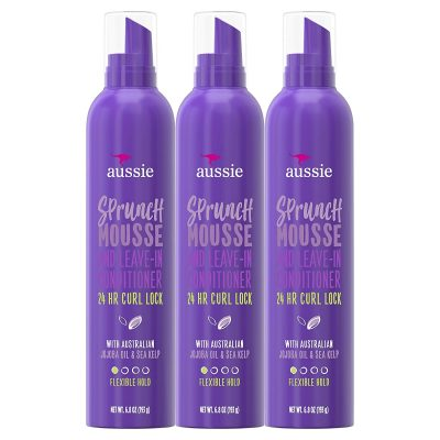 Aussie Sprunch Leave-In Conditioner and Mousse
