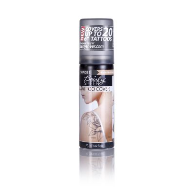 Bairly Sheer High-Intensity Body Blemish & Tattoo Cover