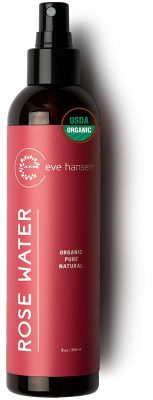 Eve Hansen Organic Rose Water Spray for Face