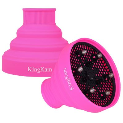 KingKam Collapsible Silicone Hair Dryer Diffuser