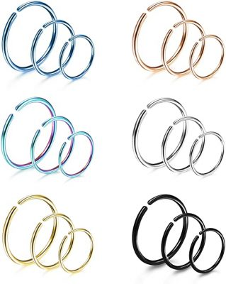 LOYALLOOK Cartilage Hoop