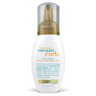OGX Quenching Coconut Curls Frizz-Defying Mousse