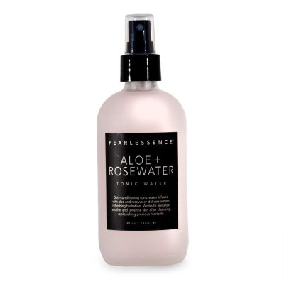 Pearlessence Aloe + Rose Water Tonic Water Face Mist