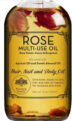 Rose Multi-Use Oil, Hair, Nail, and Body Oil